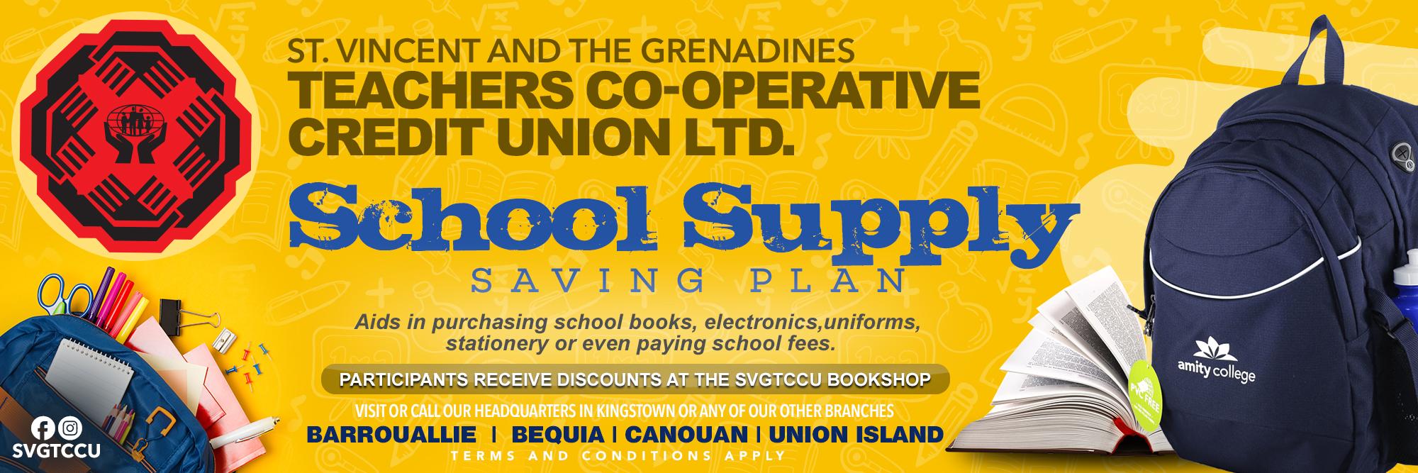 School Supply Saving Plan